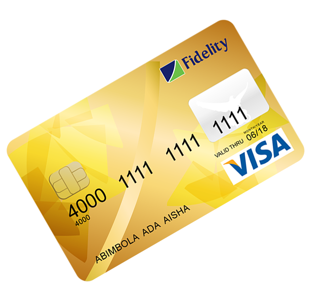 Fidelity Debitcard Gold