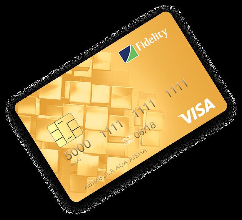 Fidelity Visa Debit Card Tab