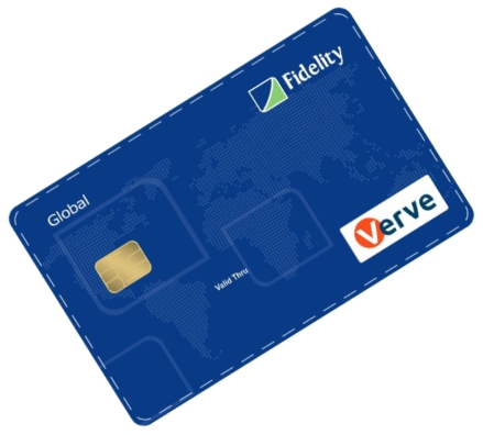 Fidelity bank cards Verve Global Card