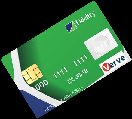 Fidelity bank cards Verve Debit Card