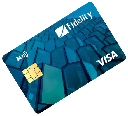 Fidelity bank cards Visa Debit Card
