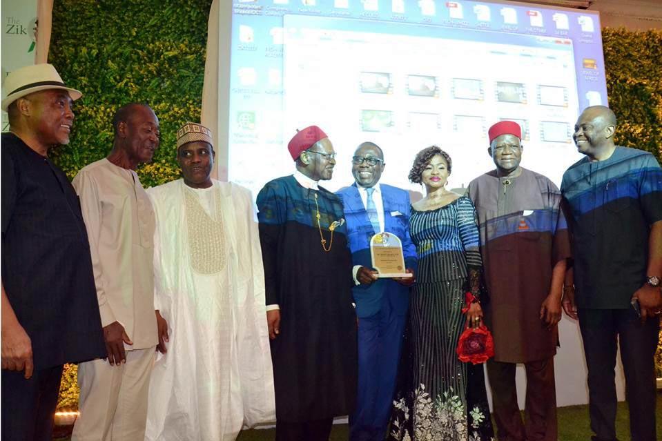 fidelity bank media centre zik award
