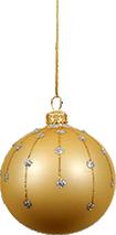 A Grin Christmas ball
