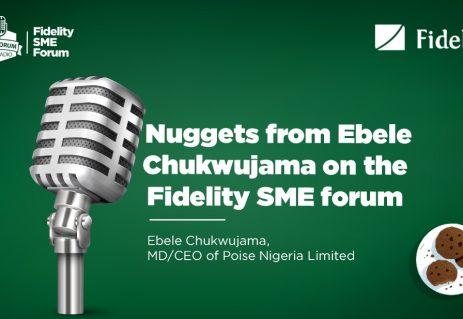 Fidelity SME Forum with Chukwujama